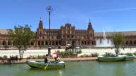 Plaza de España, Siviglia, Spagna