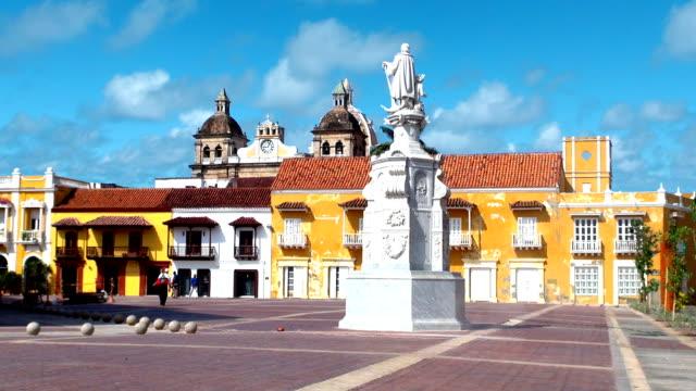 Plaza de la Aduana-Cartagena, Colombia