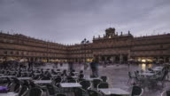 Plaza Mayor in Salamanca, Spain.
