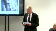 'Plebgate' row Andrew Mitchell accuses police officer of lying Press conference More Davis and CCTV footage on screen SOT