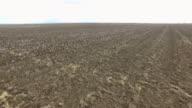 LUFTBILD Gepflügtes Feld