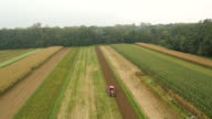 AERIAL Plowing The Field