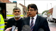 'Suspicious item' found near mosque in Walsall statements ENGLAND West Midlands Walsall EXT Superintendent Keith Fraser Councillor Zahid Ali and Zia...