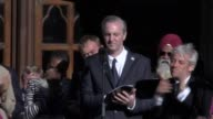 Poet Tony Walsh performed a touching ode to Manchester called This Is The Place which sparked ripples of laughter lightening the mood as the sun...