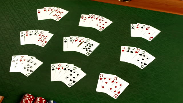 HD DOLLY: Poker Hand Kombinationen