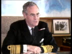 Polaris submarine support operation INT Northwood CMS Oswald interview SOF 'The improvements in polaris boats'