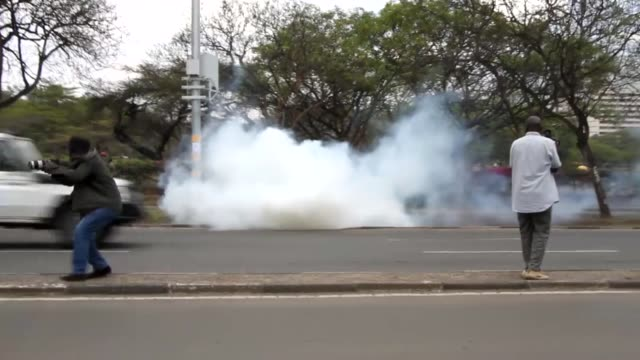 Police allegedly killed three protesters on October 13 2017 during antigovernment demonstrations that turned violent in the East African country The...