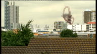 Police arrest six in London / M6 toll road closed over suspicious behaviour of coach passenger London Vox pops Olympic Stadium and ArcelorMittal...