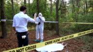 Politie arriveerde na forensics