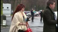 Police criticised over handling of Ian Watkins child abuse case TX Cardiff EXT Joanne Mjadzelics talking to press outside court