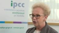 Police criticised over handling of Ian Watkins child abuse case WALES Cardiff INT Jan Williams set up shots with reporter / interview SOT