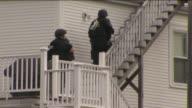WPIX Police Enter Home Of Boston Marathon Bombing Suspect on April 19 2013 in Watertown Massachusetts