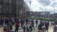 Police have stepped in to prevent clashes between the English Defence League and antifascist protesters as demonstrations take place in Liverpool The...