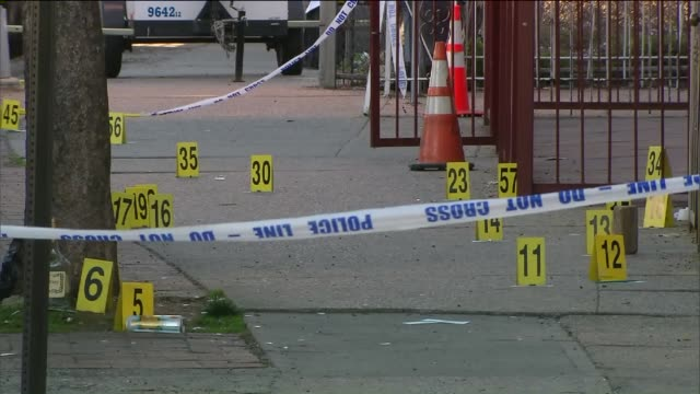 Police Investigate a Shooting in Flatbush Brooklyn