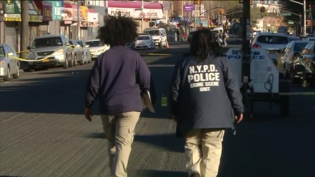 Police Investigate a Shooting in Flatbush Brooklyn