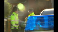 Police make arrests in two operations ENGLAND Manchester Cheetham Hill Heywood Street EXT Police officers and community support officers at police...
