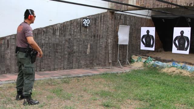 Polizia (E.O.D) tiro Pistola semi-automatica