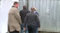 Police search garages in hunt for body of murdered schoolgirl Danielle Jones Tony Jones and Linda Jones along past forensic police tents Assistant...