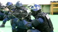 Police squads in Japan on January 26 conducted antiterrorism drills using live ammunitions The police in Niigata on the coast of Sea of Japan facing...