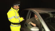 Policeman gives speeding ticket - HD & PAL