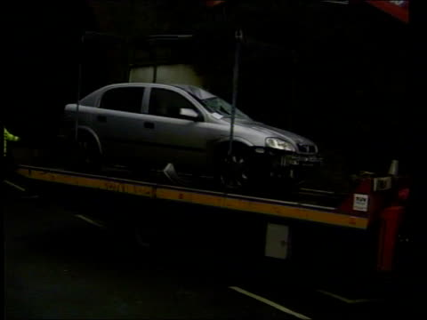 Policeman killed in hit and run ITN Kent Margate Group of police officers along to van Damaged Silver Vauxhall Astra which killed policeman Jon Odell...