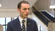 SNP politician Stephen Gethins criticising Theresa May's decision to trigger Article 50 'without seeking agreement and compromise with the Scottish...