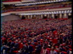 Politics First parliament meeting since changes in Eastern Bloc Gorbachev on dais Deputies seatedGorbachev address assembly Views of session Andre...