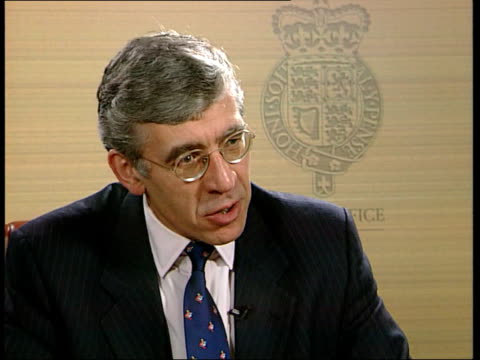 Freedom of Information Bill Government Concessions Home Office Jack Straw MP interview SOT Talks of changes made to Freedom of Information Bill