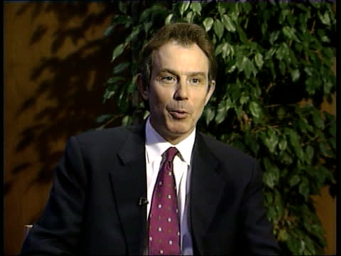 French Ban on British Beef EU Summit FINLAND Helsinki Tony Blair MP interviewed SOT We want to deal with that problem but we have to deal with it in...