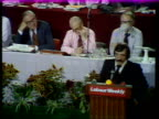 Labour Party Conference b Bob Marshall Andrews on economy ENGLAND Blackpool Bob Marshall Andrews on podium SOF if there is an exonomist who comes...