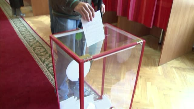 Polling stations opened Sunday for parliamentary elections in Belarus which the opposition has largely boycotted called on voters to stay home CLEAN...