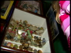Pollock's Toy Museum faces closure **MUSIC PLAYING SOT*** London INT LA Cot mobile turning EXT Pollock's toy museum INT CS Dolls CS Russian doll i/c...