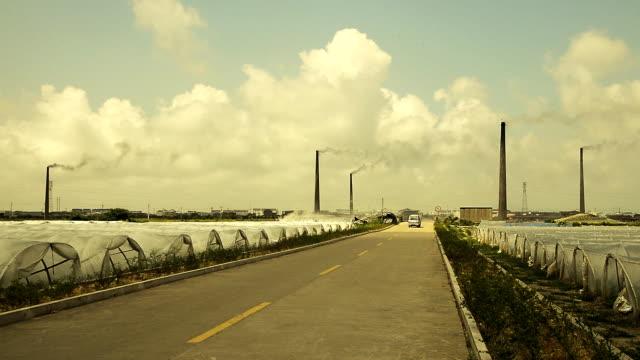 Pollution chimney