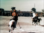 Polo match / riding display from Inner Mongolia / 4000 meter boy's race 11 year old wins