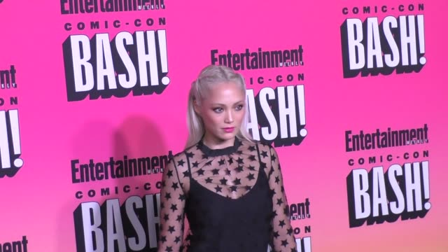 Pom Klementieff at the Entertainment Weekly San Diego Comic Con Party