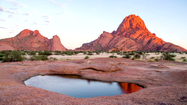WS DS Pond At The Spitzkoppe