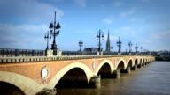 Pont Avec arches, Bordeaux, France