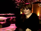 Adele interview Adele interview SOT On her highlight of 2008 album going to number one in the UK and why that means so much to her / Doesn't like...