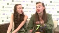 British Summertime Hyde Park festival backstage interviews Mandeville Sisters interview SOT
