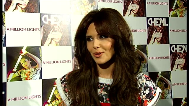 Cheryl Cole interview ENGLAND London Whiteleys Shopping Centre HMV INT Cheryl Cole interview SOT discusses her single 'Call My Name' going straight...