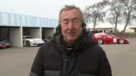 Chuck Berry death tributes ENGLAND London GIR INT Nick Mason 2 WAY interview from Goodwood racetrack SOT