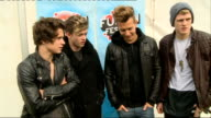 Fusion Festival backstage interviews EXT The Vamps posing for photograph with fan The Vamps interview SOT Birmingham accent / 5 Seconds Of Summer...