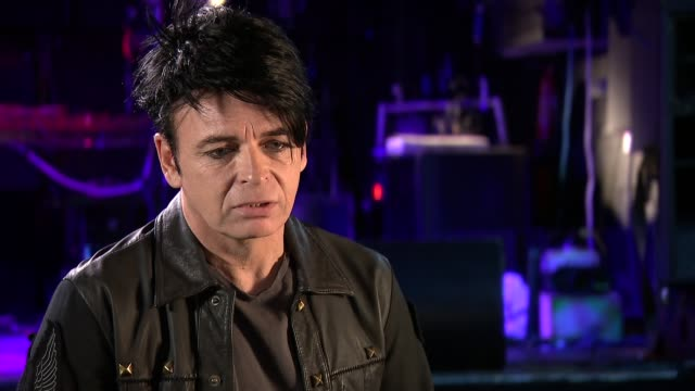 Gary Numan discusses how Aspergers syndrome has helped him focus on his work ENGLAND London INT Gary Numan interview re hi new album and possible...