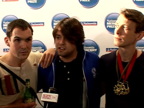 Nationwide Mercury Music Prize 2008 nominations British Sea Power interview continued SOT