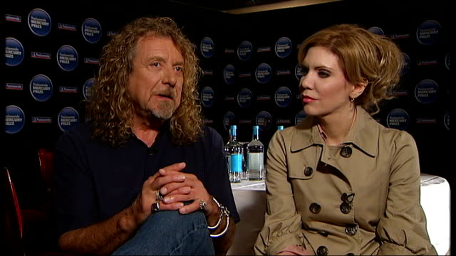 Robert Plant and Alison Krauss interview Robert Plant and Alison Krauss interview continued SOT