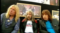 Spinal Tap interview Spinal Tap interview continued SOT about playing Glastonbury Festival