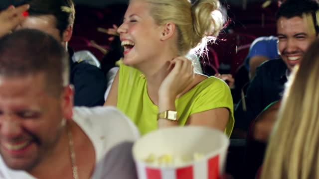 Popcorn battle in cinema