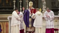 Pope Benedict XVI on Wednesday celebrated the traditional Ash Wednesday mass his last public mass as pontiff CLEAN Pope Benedict XVI celebrates Ash...