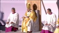 Day one mass at Bellahouston Park Pope Benedict XVI homily continued SOT Among the differing gifts which Saint Paul lists for the building up of the...