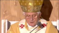 Day one mass at Bellahouston Park Pope Benedict XVI homily continued SOT I would now like to address a special word to the bishops of Scotland Dear...